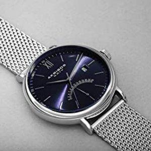 Akribos XXIV Stainless Steel Men's Bracelet Watch